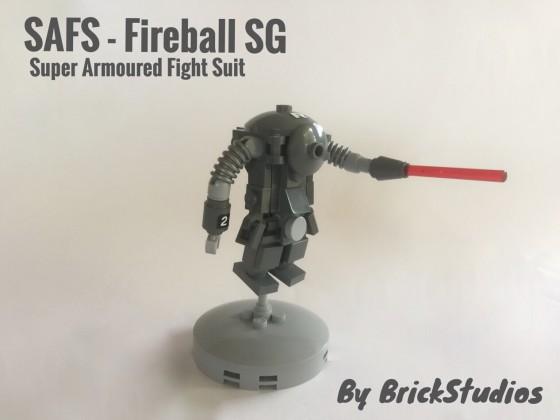 Ma.K SAFS - Fireball SG