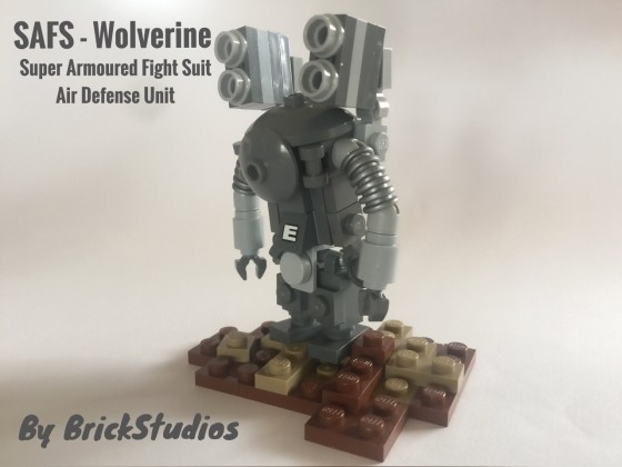 Ma.K SAFS - Wolverine