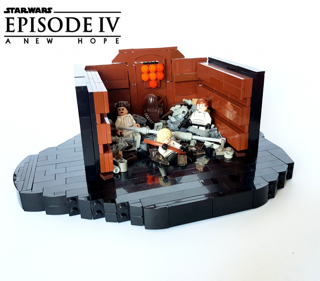 Star Wars Episode IV A New Hope - Death Star Trash Compactor