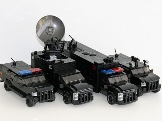 Diverse Einsatzfahrzeuge