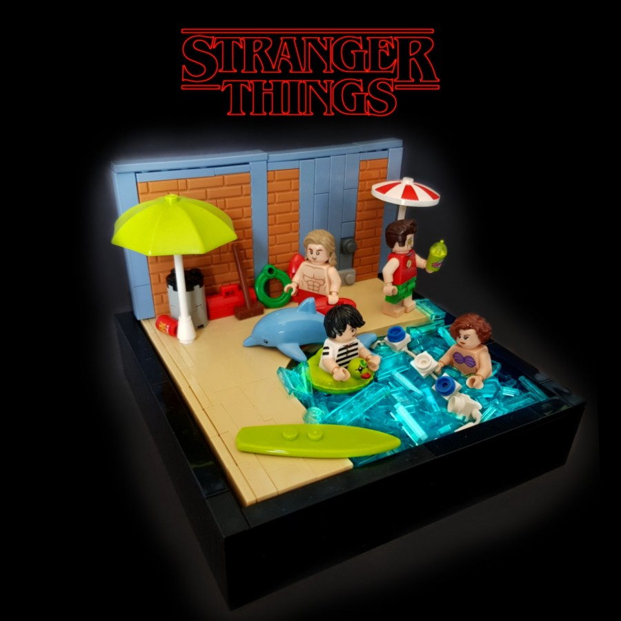Stranger Things Season 3 Hawkins Swimming pool