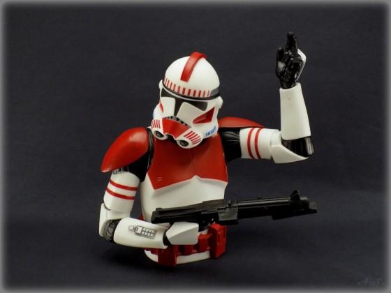 Spardose Roto-Cast Clone Commander Thire 20 cm