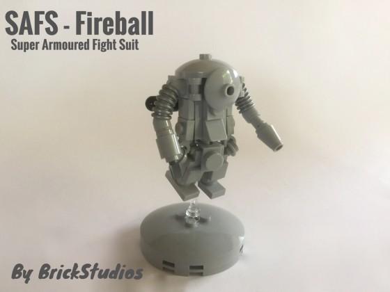 Ma.K SAFS - Fireball