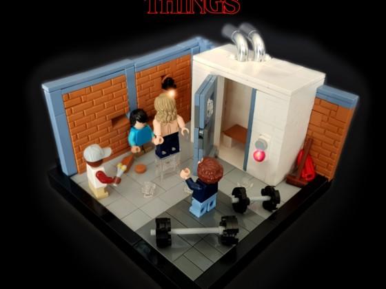 Stranger Things Season 3 - The Sauna Test