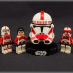 Rebublic Shock Trooper and Bandai Replik Serie 2 Maßstab 1:6, Clone Shock Trooper