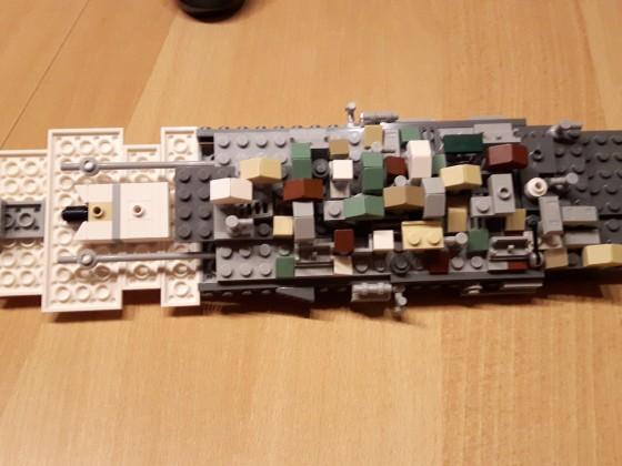 GR-75 Transporter Schritte 157 bis 267 (Unterseite)