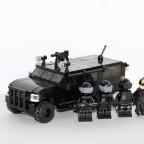 Einsatzfahrzeug mit Einheit