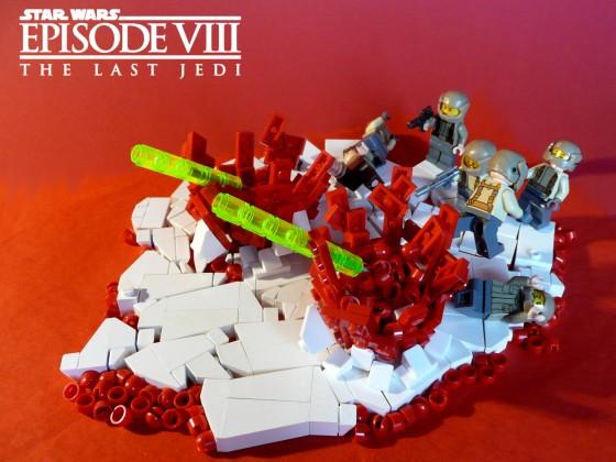 Star Wars Episode VIII - The Last Jedi - TIE Fighter Attack on Crait