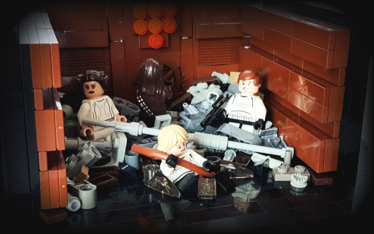 Star Wars Episode IV A New Hope - Death Star Trash Compactor