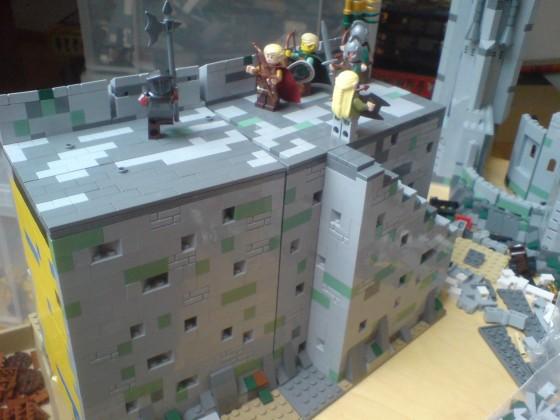 Mauer von Helms Klamm