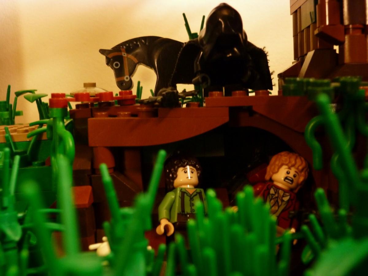 Die Flucht vor dem schwarzen Reiter, Bild 3