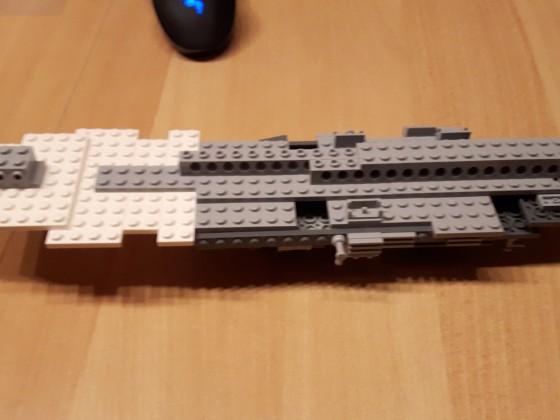 GR-75 Transporter Schritt 267 (Unterseite/Innenleben)