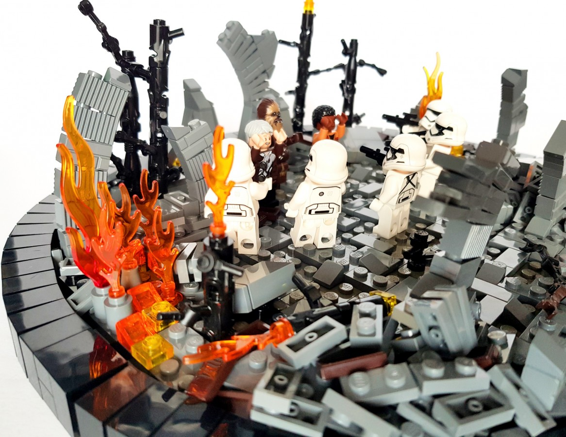 Star Wars Episode VII The Force Awakens - The Battle of Takodana