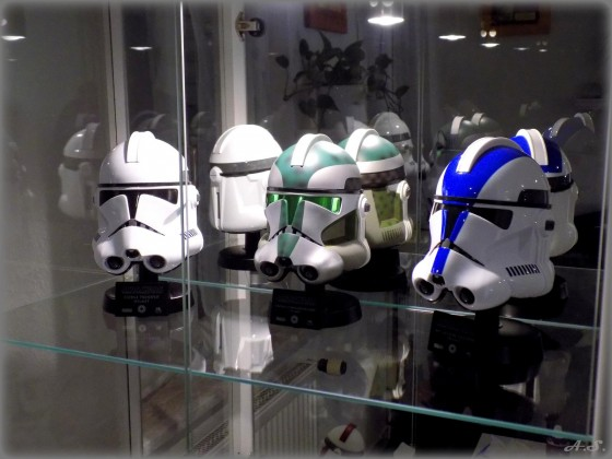 "Master Replicas - Star Wars ""Clone Trooper"" Helmet, Scale 1:45"