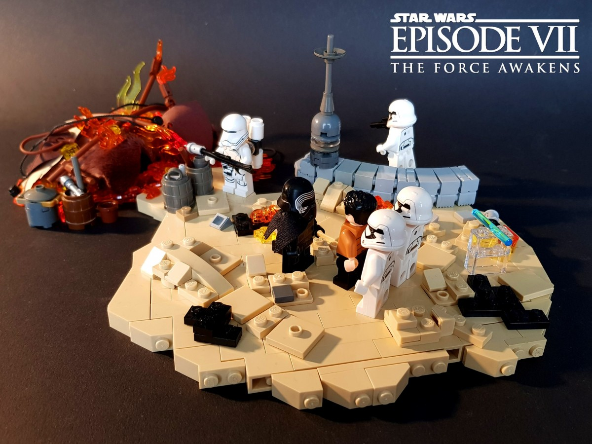Star Wars Episode VII - The Force Awakens - Attack on Tuanul