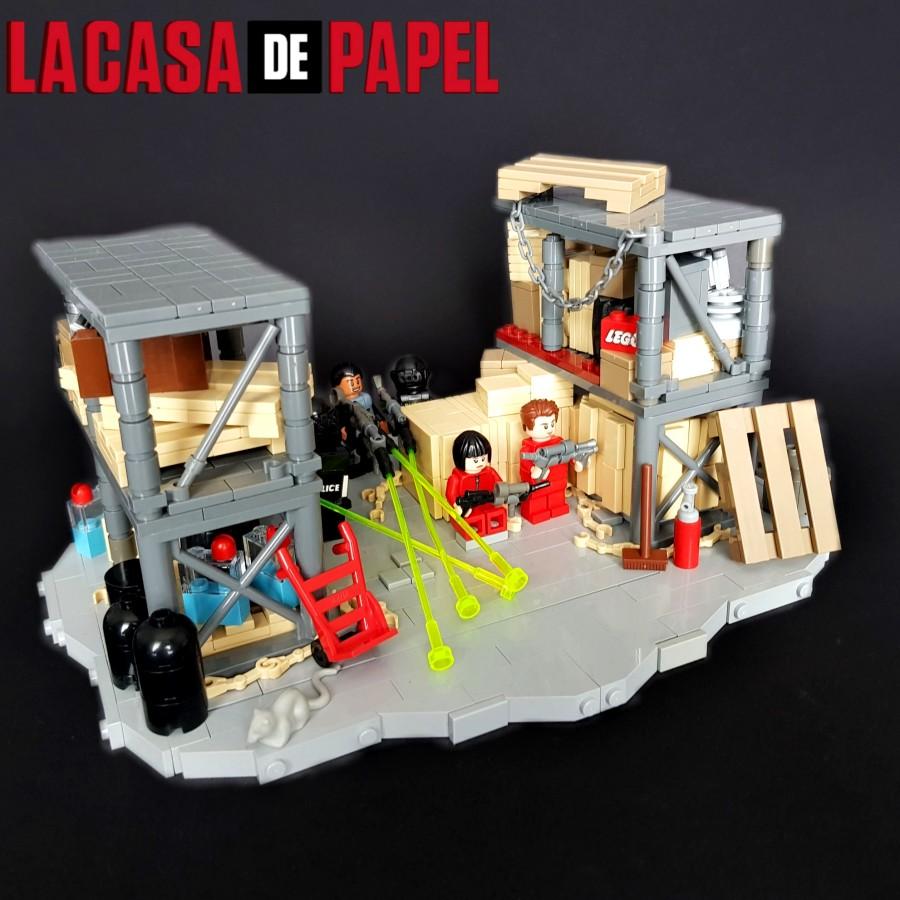 La casa de papel - Showdown in the Royal Spint of Spain