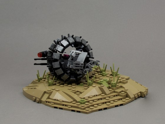 Microfighter - General Grievous Wheel Bike