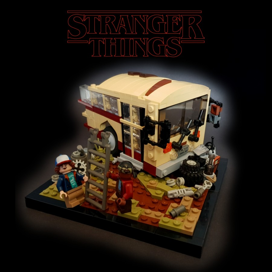 Stranger Things Season 2  - Junkyard Preperations