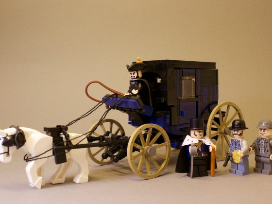Industrial Revolution 1820 - The Templar´s Coach
