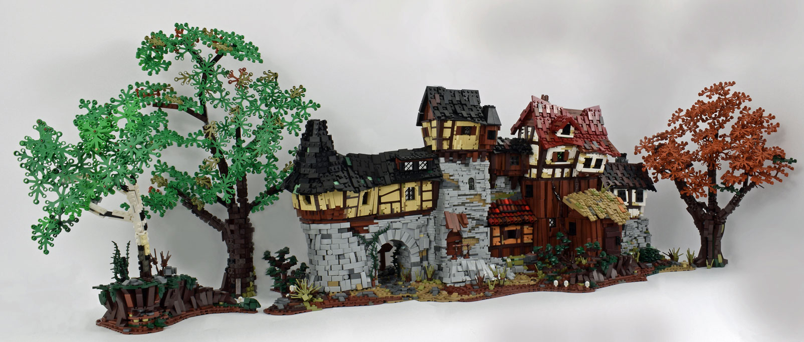 Medieval House Front