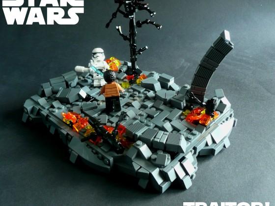 Star Wars Episode VII-The Force Awakens- Traitor!