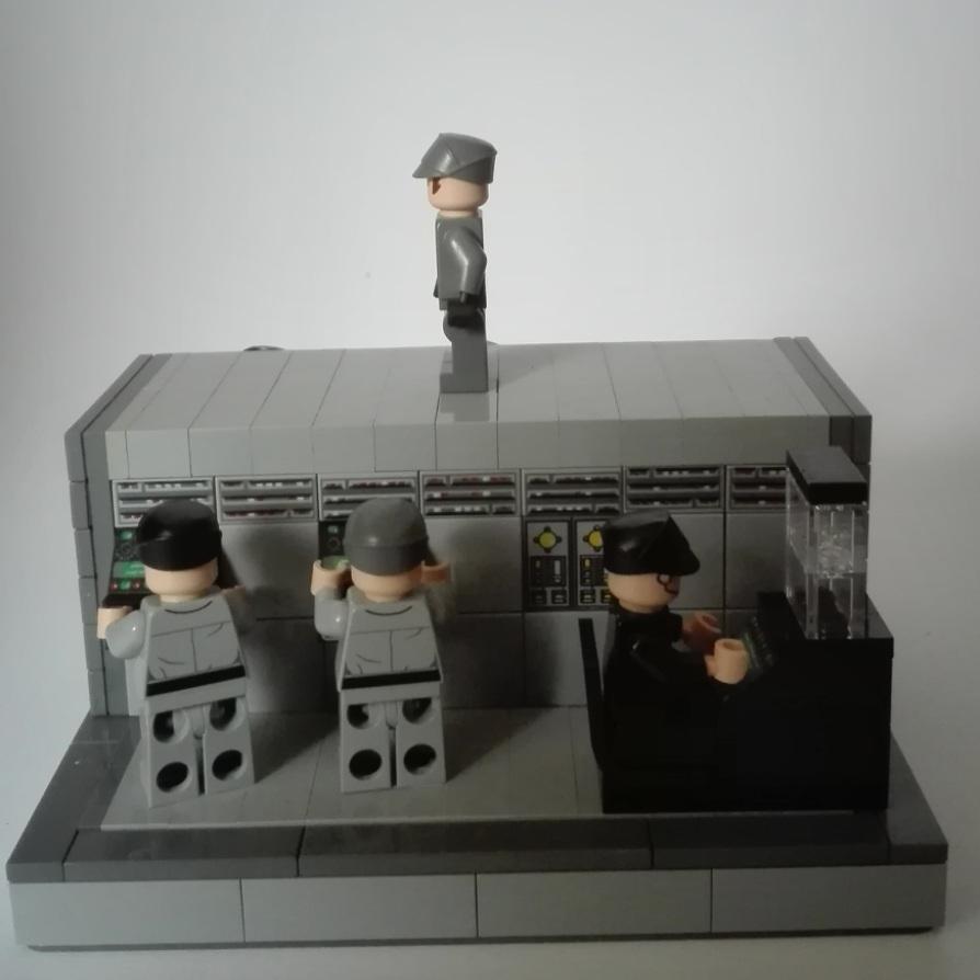 Awttg Imperial Bridge Crew Star Wars Roguebricks Lego Community